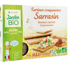 Tartines craquantes sasarrasin JARDIN BIO