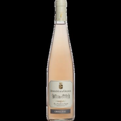 Vin rosé Val de Loire Grolleau Indication d'Origine Protégée DOMAINE DE LA GRANGE, bouteille de 75cl