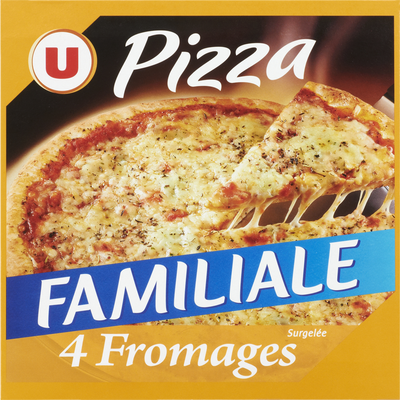 Pizza familiale 4 fromages U, 570g