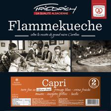 Tarte fine surgelée capri FRIEDRICH qualité alsacienne, 2 unités de 260g soit 520g