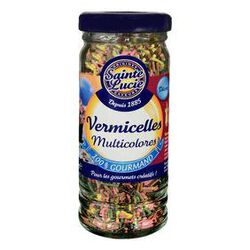 Vermicelles multicolores