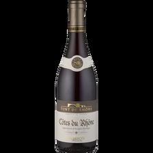 Côtes De Rhône AOP rouge PONT DU RHONE RAOUL CLERGET, 75cl