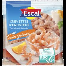 Queues crevettes décortiquées cuites ASC ESCAL 300g