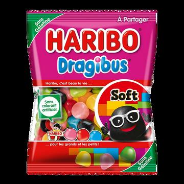 Haribo Confiserie Dragéifiée Dragibus Soft Haribo Sachet 300g