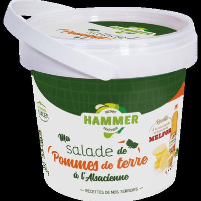 Salade de pommes de terre a l'alsacienne à le vinaigrette et moutardeMelfort, HAMMER, 450g
