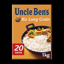 Riz UNCLE BEN'S, 1kg