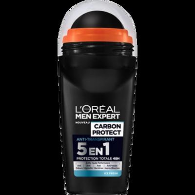 Déodorant Carbon Intense Ice MEN EXPERT, bille de 50ml