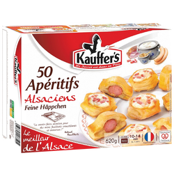 Coffret apéritifs alsaciens KAUFFER'S, X50, 620g