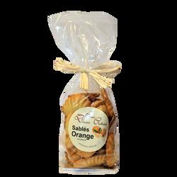 Sablés orange LES DOUCEURS CHATTOISES, sachet 250g