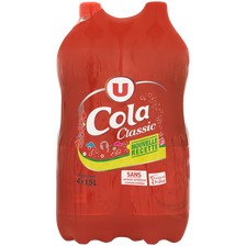 Cola standard classic U, 4 bouteilles de 1,5l