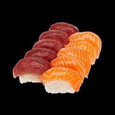 Box duo sushi saumon/thon X6