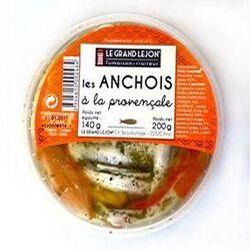 Anchois marinés à la provençale 200g LE GRAND LEJON