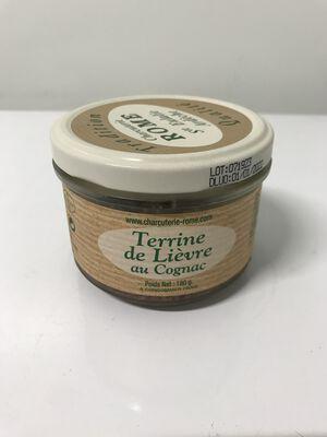 Terrine de lièvre au cognac Ste Eulalie 180g