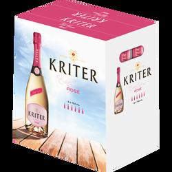 Vin mousseux rosé KRITER, 6x75cl