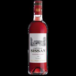 Vin rosé de Bordeaux Clairet AOP Château Sissan, 75cl