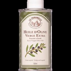 Huile d'olive vierge LA TOURANGELLE, bouteille de 50cl