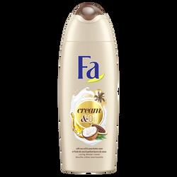 Gel douche nourrissant cream and oil à l'huile de coco et au beurre decacao FA, 250ml
