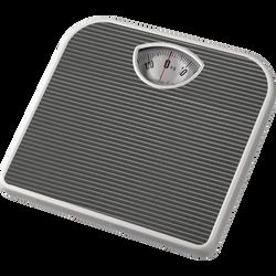 Pèse personne mécanique gris foncé