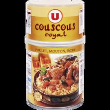 Couscous royal 3 viandes volaille mouton boeuf U, boîte de 980g