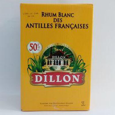 RHUM BLANC DILLON 50° CUBIS 2L