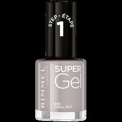 Vernis à ongles super gel 010 nude grey RIMMEL, nu, 12ml