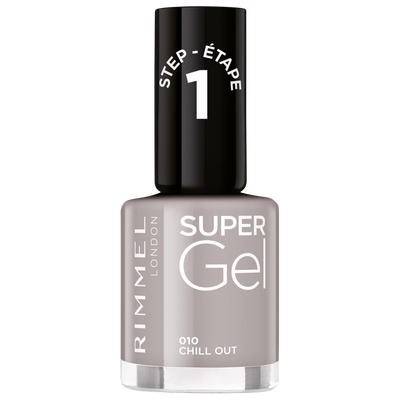 Vernis à ongles super gel 010 nude grey RIMMEL, nu, 12ml