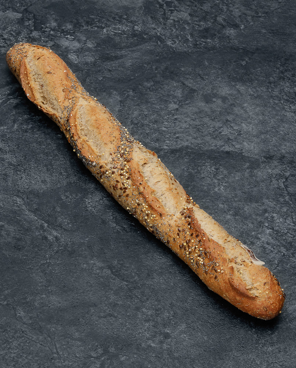 Demi baguette précuite Céréales U x4