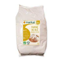 Farine de blé intégrale type 150 BIO, MARKAL, 1kg