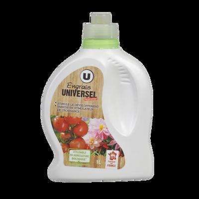 Engrais universel U, 1L, utilisable en agriculture biologique