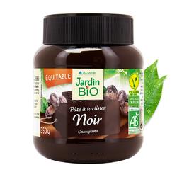 Pâte à tartiner  Noir  forte en cacao JARDIN BIO 350g