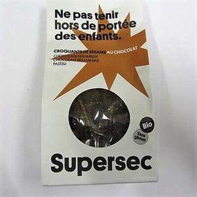 Croquants de sésame au chocolat Bio SUPERSEC,110g