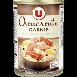 Choucroute garnie U, boîte de 400g