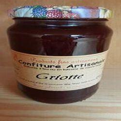 Confiture griotte Recette du JURA 430g