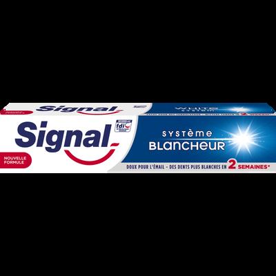 Dentifrice système blancheur SIGNAL, tube de 75ml