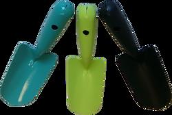 Transplantoir tout acier noir-coloris assortis:bleu,vert, noir