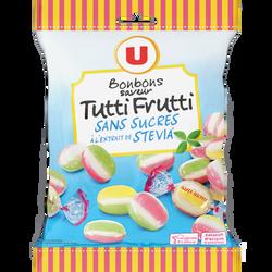Tutti frutti sans sucres à l'extrait de stévia U, 120g