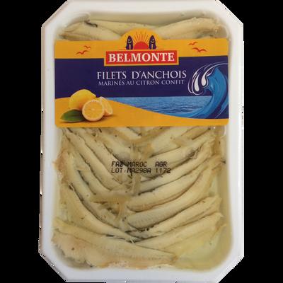 Anchois marinés citron Belmonte 150g