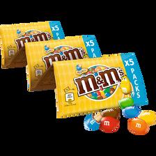 M&M'S peanut chapelet, 5 paquets, 225g