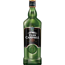Blended Scotch whisky Clan CAMPBELL, 40° 1l