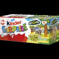 KINDER SURPRISE T3  PACK DE 3 OEUFS NATOONS 20-21