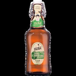 Bière, FISCHER,3 Houblons, bouteille verre de 65cl