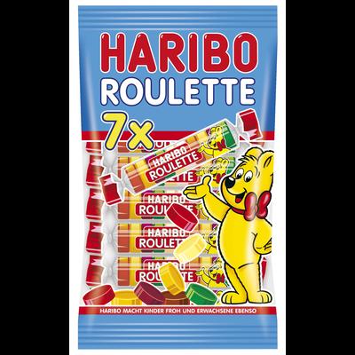 HARIBO roulette multipack sachet de 7 bonbons 175g