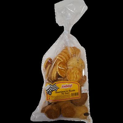 Assortiment de biscuits pur beurre, BISCUITERIE JOUBARD, 600g