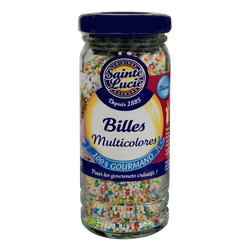 Billes multicolores SAINTE LUCIE, 80g