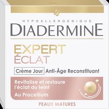 Soin crème de jour anti-âge expert éclat reconstituant DIADERMINE, potde 50ml