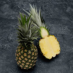 Ananas extra sweet, BIO, calibre 10, Costa Rica, la pièce