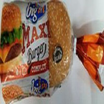 Pain maxi burger complet x4,BIG'IN, 320g