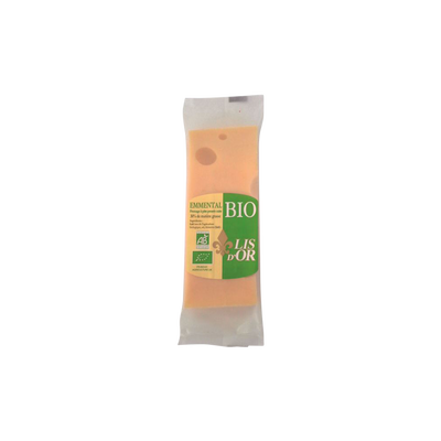 Emmental, BIO, au lait pasteurisé, 30% Mat.Gr., LIS D'OR