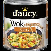D'aucy Wok De Légumes Curry D'aucy, Boîte De 290g
