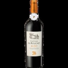 Vin Buzet AOC rouge CHATEAU DU BOUCHET, bouteille de 75cl